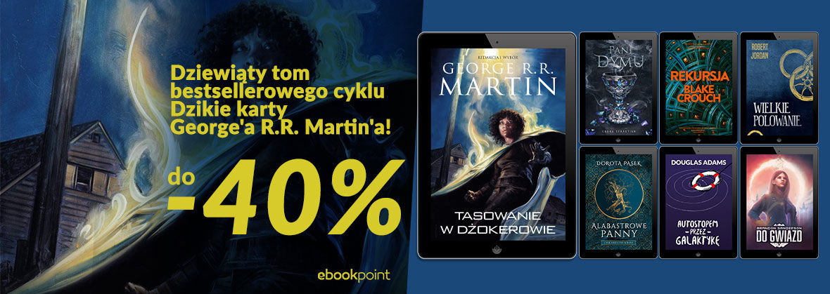 Promocja na ebooki Fantastyka i science fiction! / do -40%